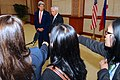 Philippines Foreign Minister del Rosario Addresses Reporters With Secretary Kerry (10184200514).jpg