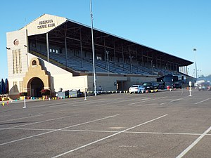 Arizona State Fairgrounds - Image: Phoenix Arizona State Fair Grandstand 1930 1