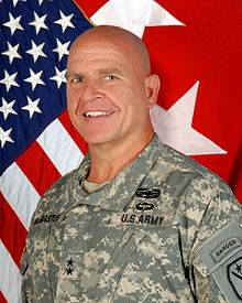 Photo of Major General HR McMaster Taken at his new duty station in June of 2012 Fort Benning, GA.jpg