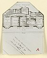 Photograph, Photograph of a Floor Plan for an Apartment Building Designed by Hector Guimard (No. 5), 1911 (CH 18387425-2).jpg