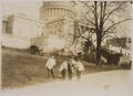 Photograph of news-boys selling near the Capitol building - NARA - 306628.tif