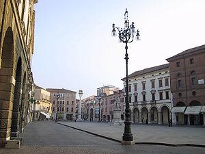 Rovigo - Piazza Vittorio Emanuele II.