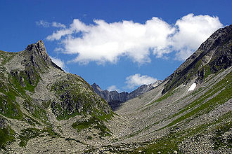 Chrüzli Pass - View from the Uri side