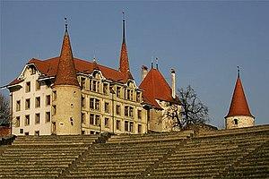 Avenches Castle - Avenches Castle