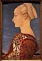 Piero del pollaiolo, ritratto di giovane donna, 1465 ca. (berlino) 02.JPG