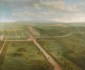 Pieter Andreas Rijsbrack - Prospect of Tottenham Park, Wiltshire