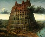 "Pieter Bruegel the Elder - The ""Little"" Tower of Babel - WGA03432.jpg"