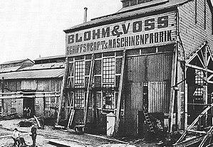 Blohm+Voss - Image: Pincerno Blohm & Voss 1877