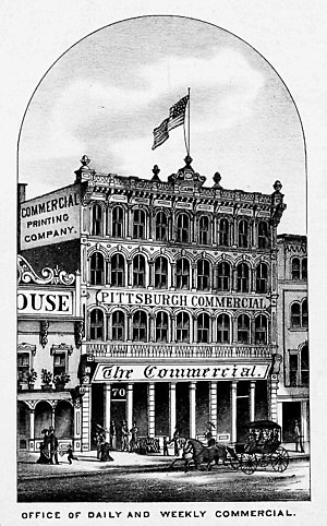 Pittsburgh Commercial - Commercial office, 1876