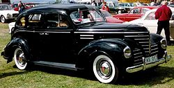 Plymouth P8 Deluxe Limousine (1939)