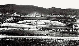 Neo Phaliron Velodrome - Image: Podhlatodromio karaiskakh 1896