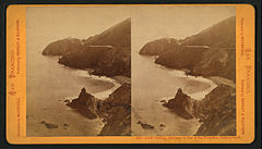 Point Bonita, entrance to Bay of San Francisco, looking South, by Bradley & Rulofson.jpg
