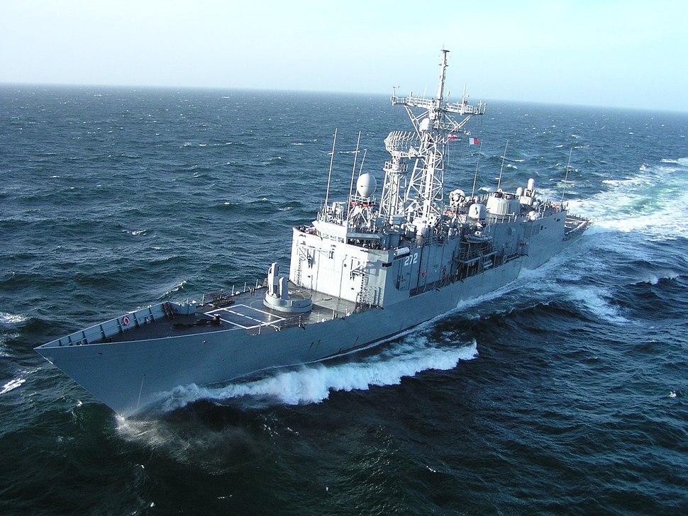 Polish Warship gen.Pulaski
