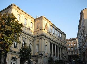 Politeama Rossetti - Façade of Politeama Rossetti