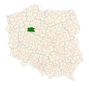 Pałuki - Image: Polska woj paluki