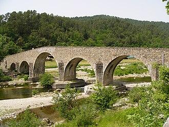 Saint-Jean-du-Gard - Bridge over the Gardon