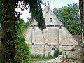 Pontpoint (60), grange aux dîmes de la ferme de l'abbaye du Moncel, pignon ouest.jpg