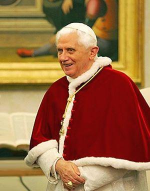 Vatican. Pope Benedict XVI.