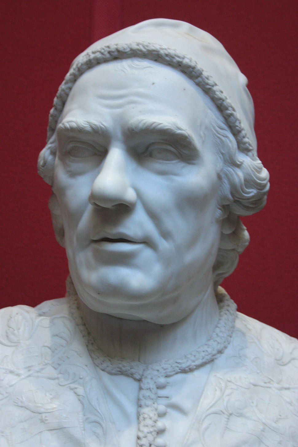 Pope Clement XIV by Christopher Hewetson 1772