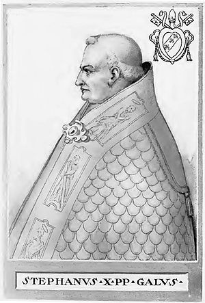 Pope Stephen IX - Image: Pope Stephen IX