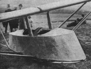Schleicher Poppenhausen - Image: Poppenhausen Cockpit