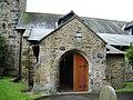 Porch, The Parish Church of St Mary the Virgin, Goosnargh - geograph.org.uk - 485383.jpg