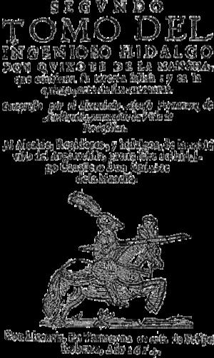Quijote de Avellaneda