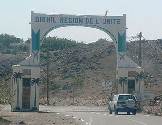 Dikhil Town in Djibouti