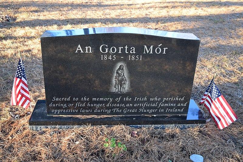 File:Portland Maine Irish Great Hunger Memorial.JPG