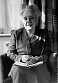 Portrait of Melanie Klein, 3-4 length, seated in armchair. Wellcome L0018524.jpg