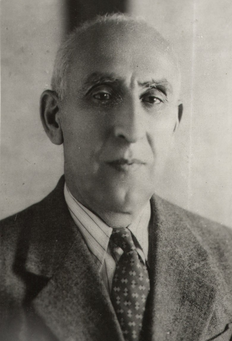 Portrait of Mohammad Mosaddegh - circa 1952