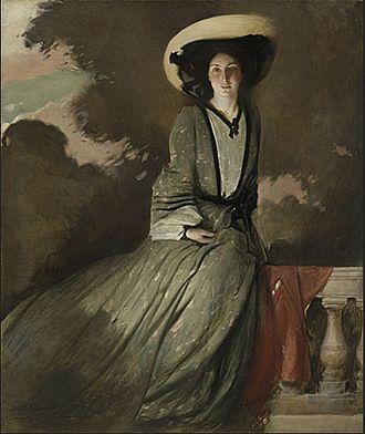 John White Alexander - Portrait of Mrs. John W. Alexander