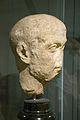 Portrait of Roman, face resembles Gallienus, Marble, 3rd cy AD, Prague Kinsky, NM-H10 8097, 142158.jpg