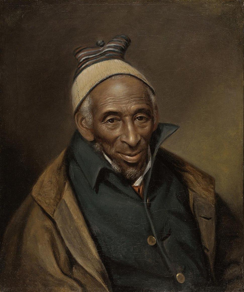 Portrait of Yarrow Mamout (Muhammad Yaro), 1819. Charles Willson Peale