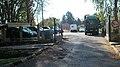 Posta vehicles, Kölcsey Ferenc street, 2018 Dombóvár.jpg