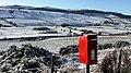 Postbox on Gravelly Bank, Rothbury - geograph.org.uk - 1150785.jpg