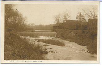 Hazardville, Connecticut - Powder Hollow, c. 1910