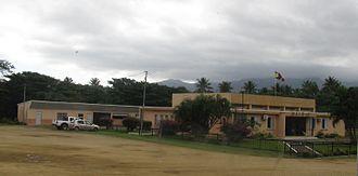 Poya, New Caledonia - The town hall in Poya