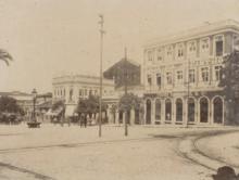 Piazza 15 de novembro, 1906. Archivio Nazionale del Brasile