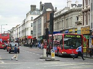 Praed Street - Praed Street in 2007