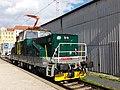 Praha, hlavní nádraží, elektrická lokomotiva E458.1011.jpg