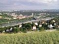 Praha - Děvín - View SSE on Barrandov Bridge & Braník.jpg
