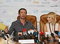 Press-conference of Vladimir Mashkov and Alexei Uchitel - Odessa International Film Festival - 17 July 2010 - 1 - Vladimir Mashkov.jpg