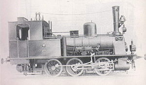 Prussian T 3 - The second variant of the T 3 with steam dome