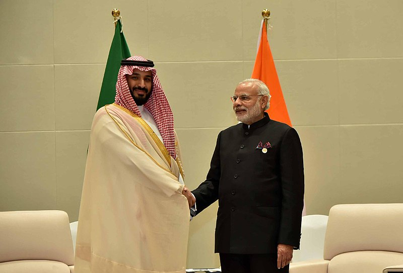 File:Prime Minister Narendra Modi meeting Mohammad bin Salman, Deputy Crown Prince of Saudi Arabia.jpg