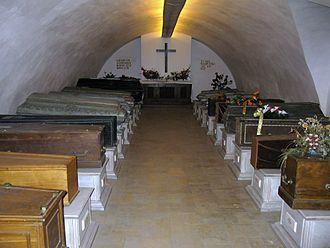 Czartoryski - Czartoryski family vault in Sieniawa