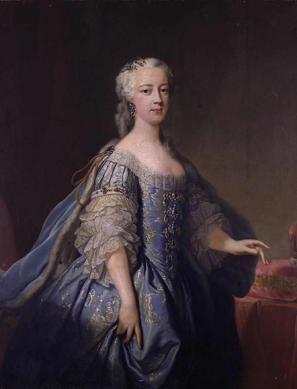 Princess Amelia of Great Britain (1711-1786) by Jean-Baptiste van Loo