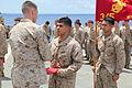 Promotion ceremony aboard USS Rushmore 130501-M-VZ265-027.jpg