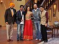 Promotion of Chennai Express on Comedy Nights with Kapil.jpg