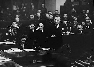 Robert H. Jackson - Chief U.S. Prosecutor at the International Military Tribunal, Nuremberg, Germany, Robert H. Jackson,1945-46
